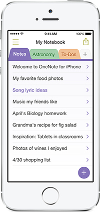 Microsoft Updates OneNote For iPhone With Some Top Requested Features