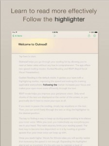 Outread Update Ushers In A New Way To Speed Read And More