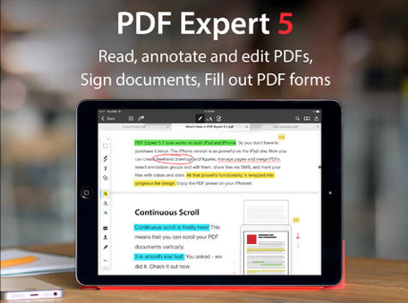 PDF Expert 5 Goes Universal And Adds New Features With An Update