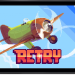 Party Like It's 1986 In Rovio's New Bird-Less 8-Bit Game Called Retry