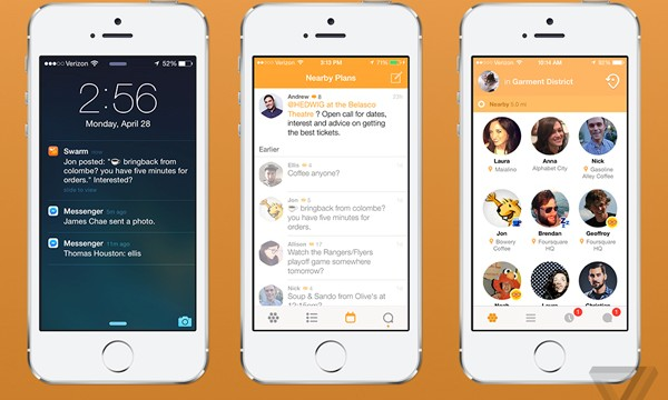 Foursquare's New Swarm iOS App Is Finally On The App Store