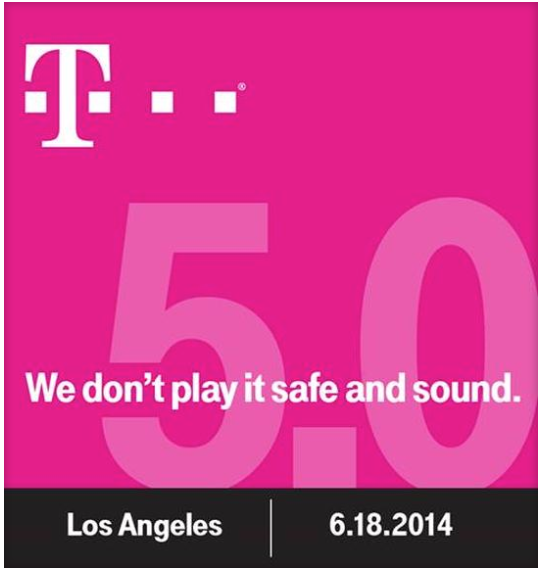 More Disruption Ahead As T-Mobile Announces Uncarrier 5.0 Event
