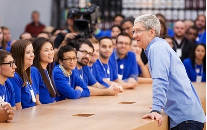 Auction For Charity Lunch With Apple CEO Tim Cook Closes At $330,001
