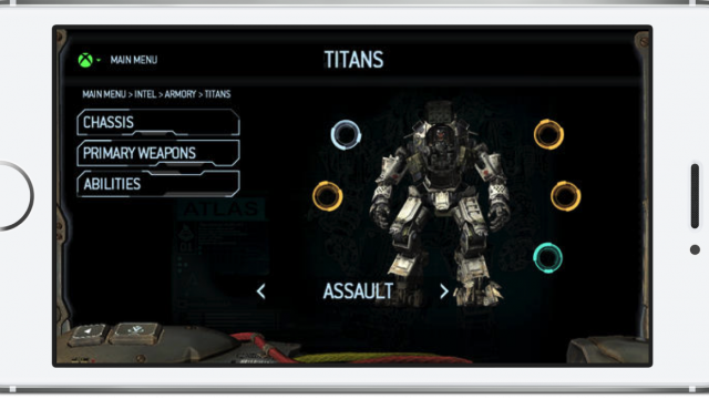 EA Releases The Titanfall Companion App For Xbox One Users
