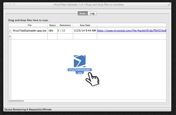 Google's VirusTotal Uploader Lands On Mac OS X