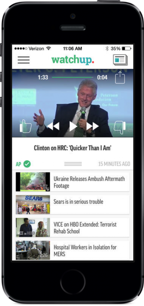 Watchup Arrives On iPhone, Lets You Design Your Very Own Daily Newscast