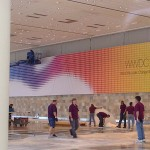 Banners For Apple's WWDC 2014 Begin To Appear At Moscone West