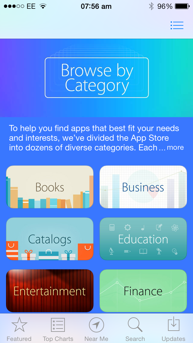 Apple Launches A New 'Browse By Category' Collection On The App Store