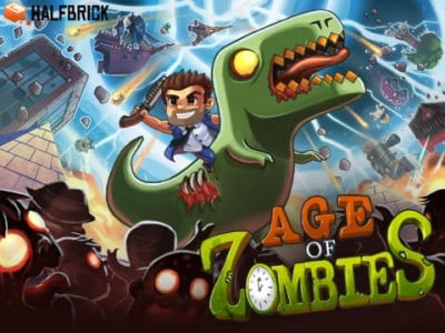 Ride The Zombie T-Rex In Halfbrick's Age Of Zombies, Now With Controller Support