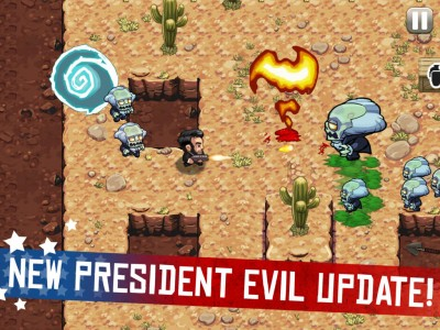 Barry Channels Abe Lincoln To Take On Zombie Washington In Halfbrick's Age Of Zombies