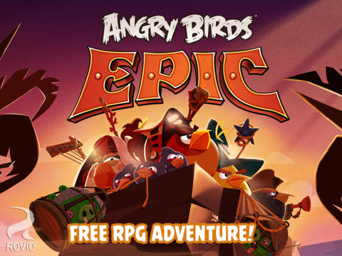 Rovio Officially Releases Angry Birds Epic Fantasy RPG Worldwide In The App Store