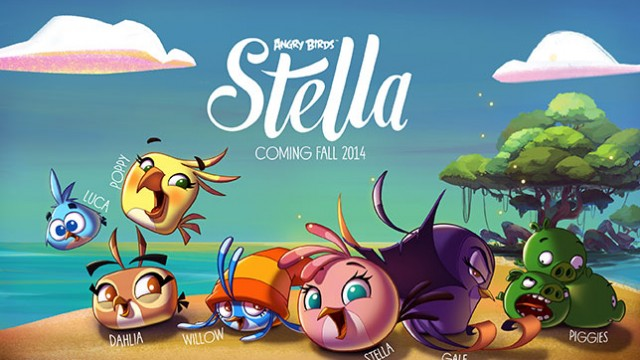 Angry Birds Stella Is Rovio's New Line Of Games, Cartoons, Toys, Books And More