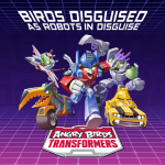 Check out the official gameplay trailer for Rovio's Angry Birds Transformers