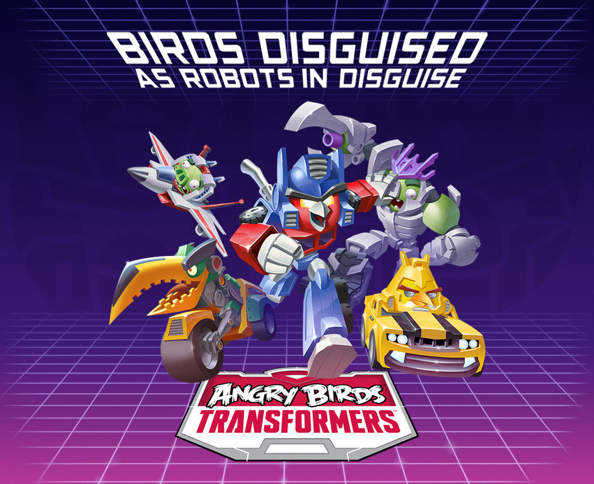 Rovio And Hasbro Introduce Autobirds And Deceptihogs In Angry Birds Transformers
