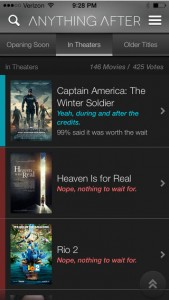 Is There Anything After The Movie Credits? Find Out With This Newly Updated App