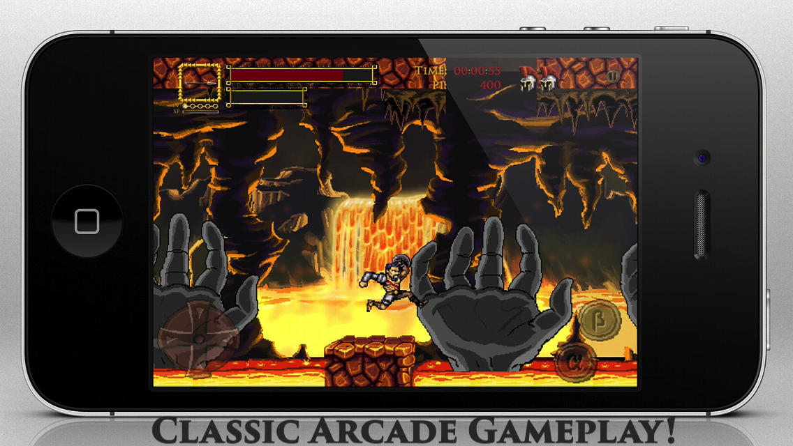 Arcane Ghosts Is A New 2-D Platformer Inspired By Ghosts 'N Goblins And Castlevania