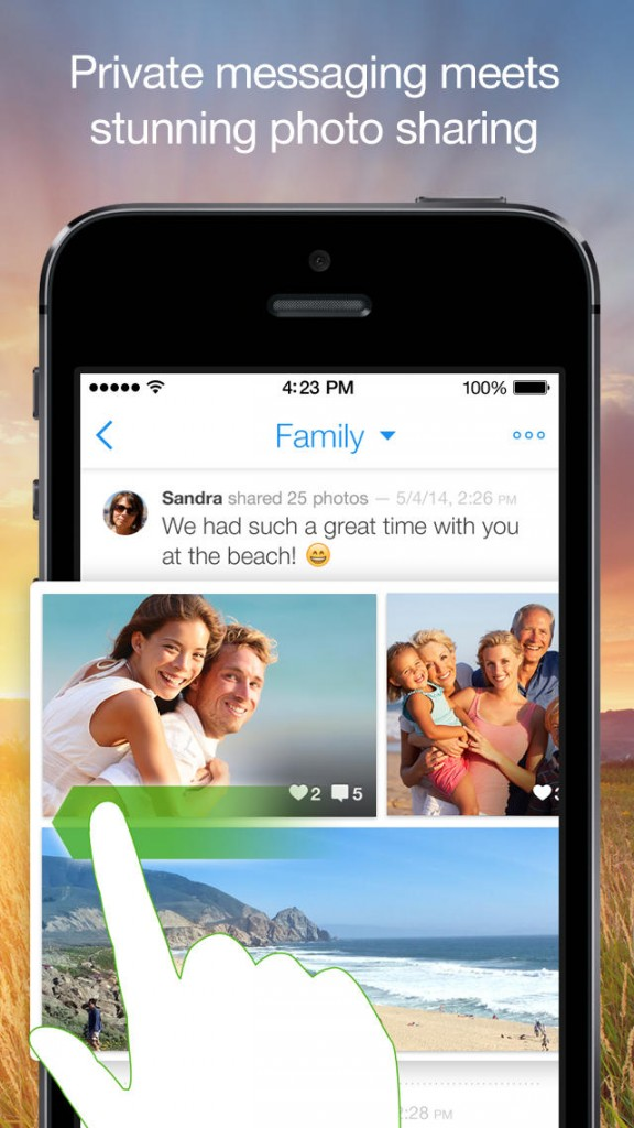 Cooliris Focuses On Photo Sharing With New Private Messaging App BeamIt