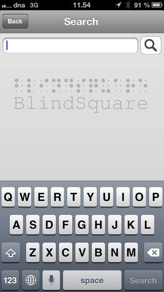 Check Out What Just Checked In To BlindSquare, The Accessible GPS App