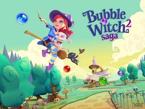 Candy Crush Saga Creator King Releases Spellbinding Sequel To Bubble Witch Saga