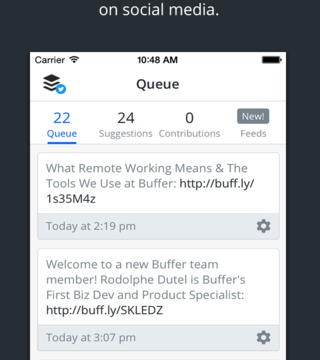 Buffer App Gets Redesigned And Updated With Feeds And Multiple Account Sharing