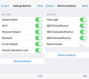 Hidden iOS 8 Settings Reveal Control Center And Lock Screen Customization Options