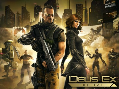 Square Enix's Deus Ex: The Fall Sci-Fi Shooter Can Be Yours Right Now For Free
