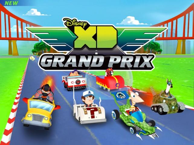 All-Star Kart Racing Gets The Disney XD Treatment In Disney XD Grand Prix