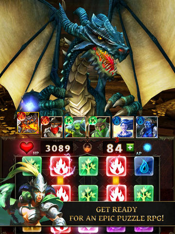 Dungeons And Dragons Await In Gameloft's Dungeon Gems RPG-Style Puzzle Game