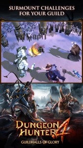 Gameloft Releases Guildhalls Of Glory Update To Dungeon Hunter 4