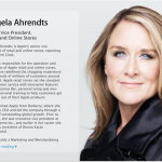 Apple's Retail Head Angela Ahrendts Sends Out Her First Memo