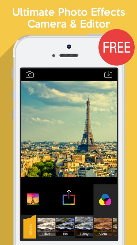 Apalon Apps Launches Camera Fx8 Free On The App Store