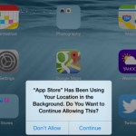 In iOS 8, Users Also Get Prompted When Apps Continue Monitoring Their Location