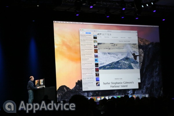 Apple Shows Off Its Revamped Safari App For OS X 10.10 Yosemite
