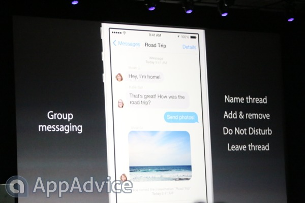 Apple Makes A Number Of Improvements To The Messages App In iOS 8
