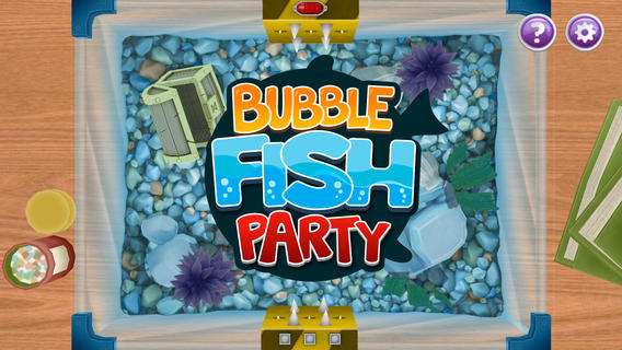 Forget Hungry Hippos And Join In The Bubble Fish Party On Your iOS Device