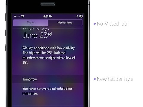 Cydia Tweak: Notific8 Ports The iOS 8 Notification Center Over To iOS 7