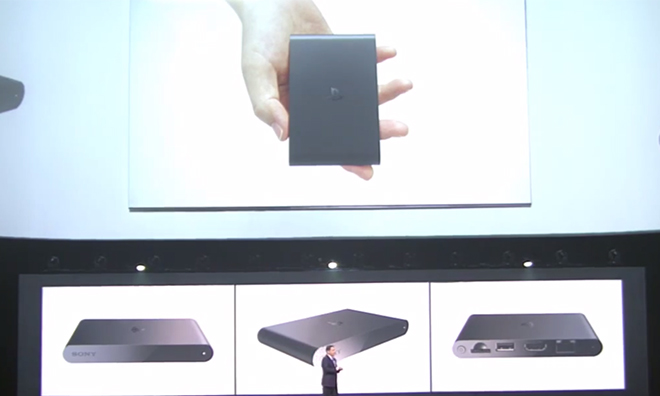 Sony Takes Aim At The Apple TV, Announces Its Own $99 PlayStation TV Set