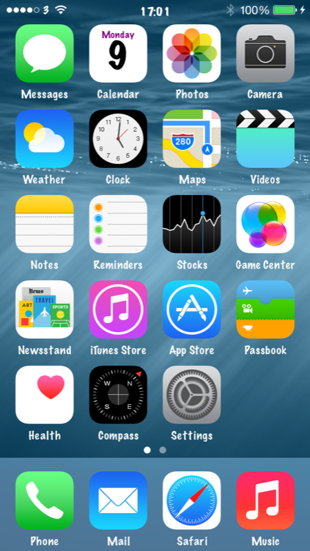 Apple's iOS 8 Also Features Hidden 'Alternate UI' Options For Fonts, UI Elements