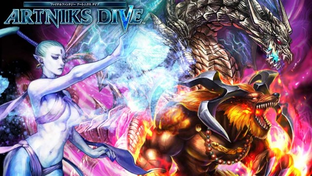 Square Enix And Gree To Release Final Fantasy Artniks Dive In Japan This Summer