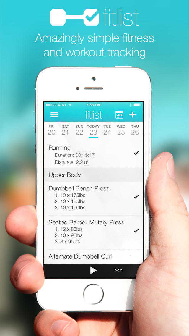 Fitlist Update Brings Progress Graphs, New Workout Sharing Options And More