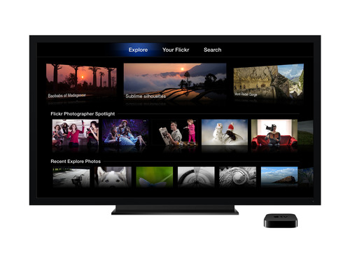 Yahoo Revamps Flickr For Apple TV With New And Improved Features