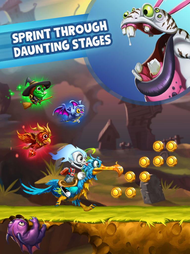DeNA Unveils Go Go Ghost, A New Mission-Based Side-Scrolling Auto-Runner