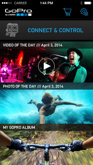 GoPro Updates Official iOS Companion App With New Design For iOS 7