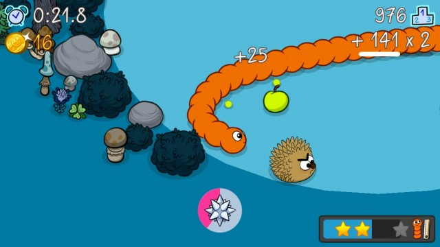 Munch Your Way To New Lengths With Grub, A Cute And Modern Snake Game For iOS