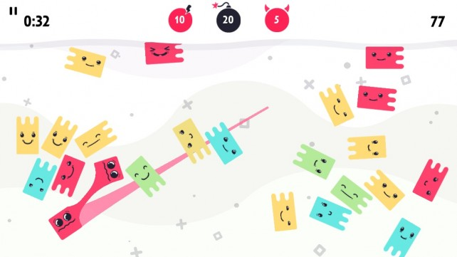 Get Your Fingers Back From Mischievous Jellies In This Slick New Color-Linking Puzzle Game