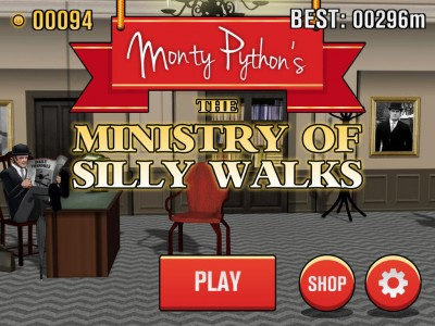 Make Like John Cleese In Monty Python's The Ministry Of Silly Walks