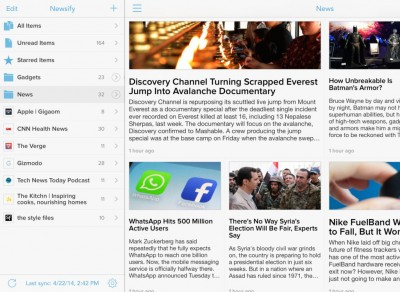 Popular Feed Reader App Newsify Updated With New Sharing And Font Options