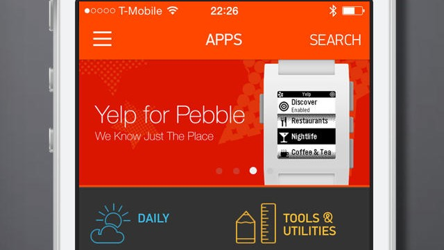 Pebble Smart Watch Updates Bring Double-Click Notification Skipping And More Tweaks