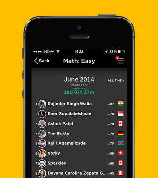 QuizUp Gains New Social Features Plus Coca-Cola-Sponsored World Cup Topics
