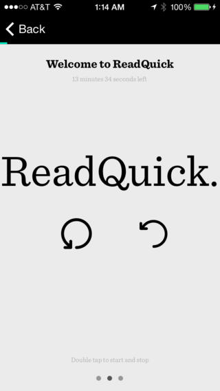 Apple Wants You To ReadQuick With Its Free App Of The Week In The App Store